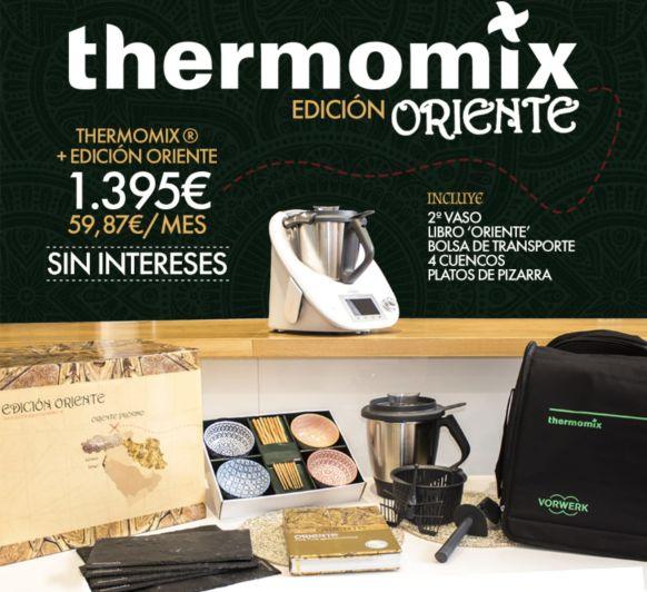Vuelve el 0% con la Edición Oriente de Thermomix®