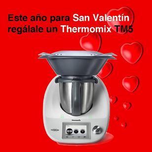 Este Año por San Valentin, regalale un Thermomix® TM 5