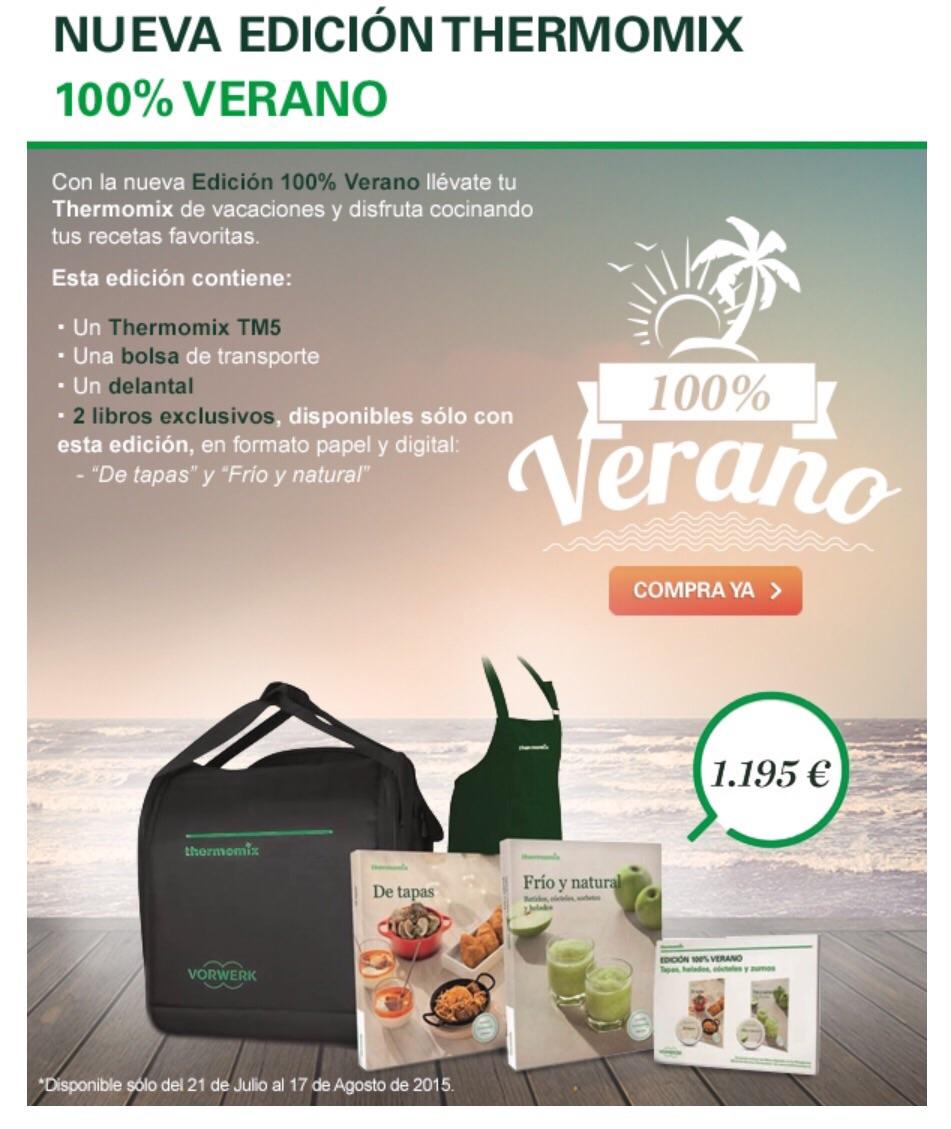 NUEVA EDICIÓN Thermomix® 100% VERANO