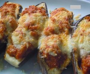 Berenjenas rellenas de bacalao verduras hortalizas y - Berenjenas rellenas de bacalao ...