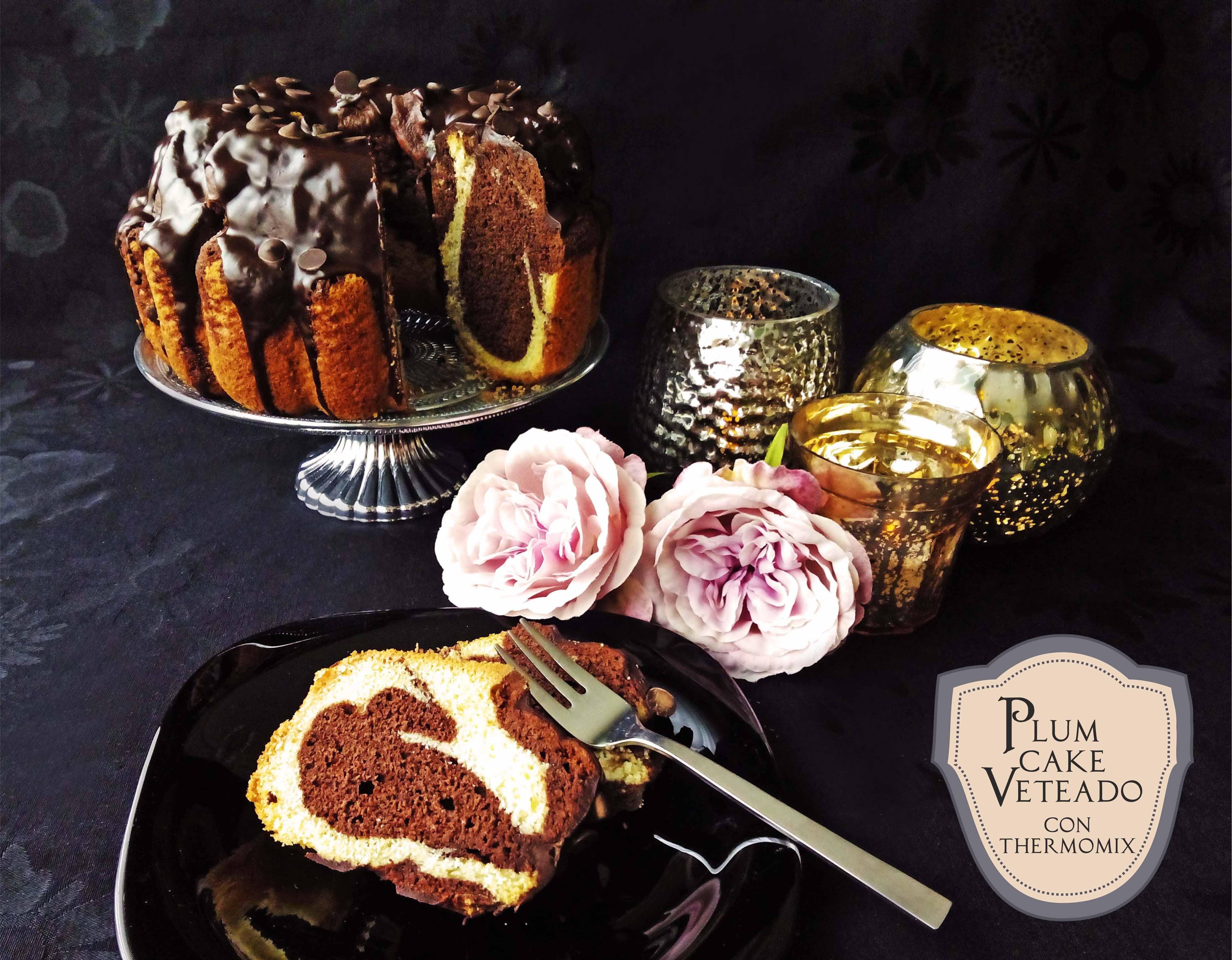 PLUM CAKE VETEADO. También versión SIN GLUTEN.