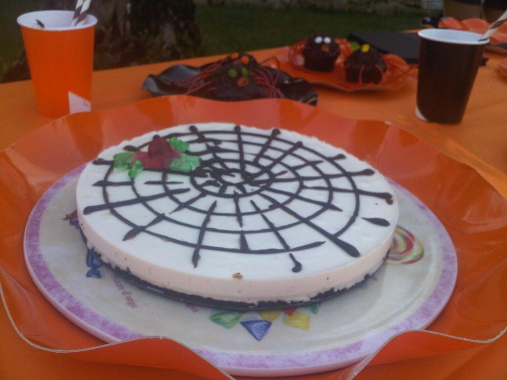 Telara a para fiestas de miedo tarta de queso sin horno for Cocinar xoubas