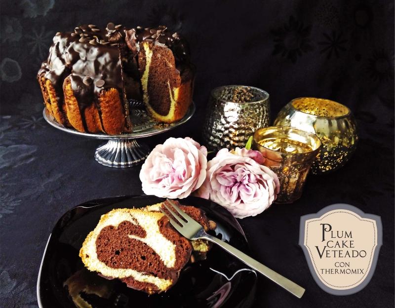 Plum cake veteado tambi n versi n sin gluten postres y - Comprar thermomix corte ingles ...