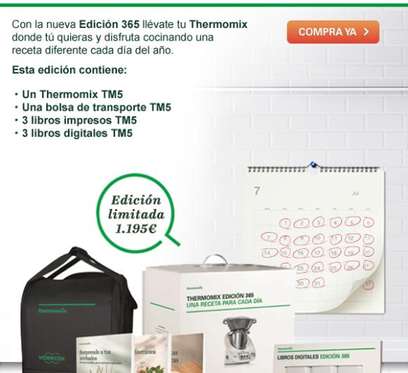 Porque Mama se merece lo mejor, regalale lo mejor: Un Thermomix® TM5