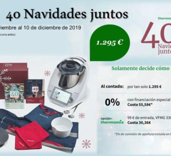 PROMOCIÓN NAVIDAD 2019 Thermomix® 0%